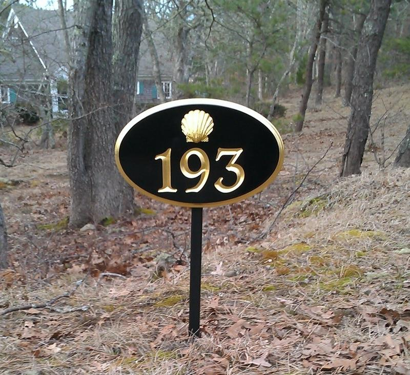 Cape Cod House Numbers