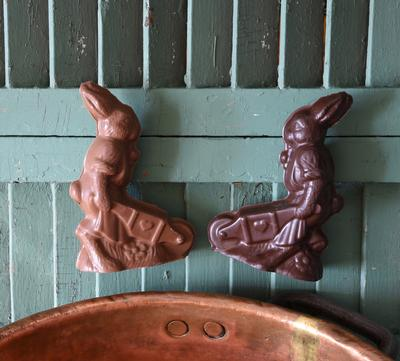Wheelbarrow Bunny