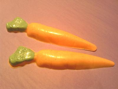 White Chocolate Orange Carrots