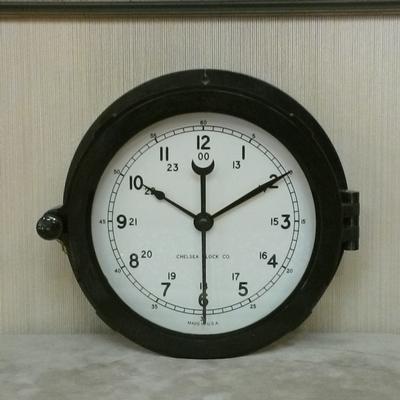 "6"" Patriot Deck Clock"