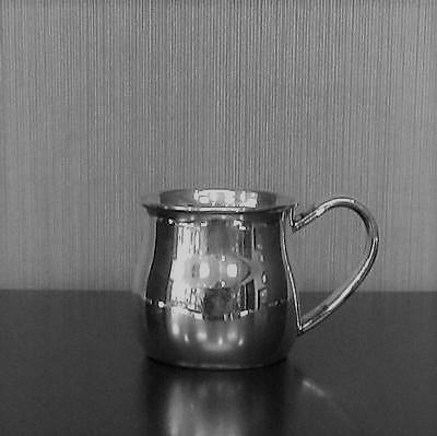 """Sterling Silver """"Silhouette"""" Baby Cuo"""