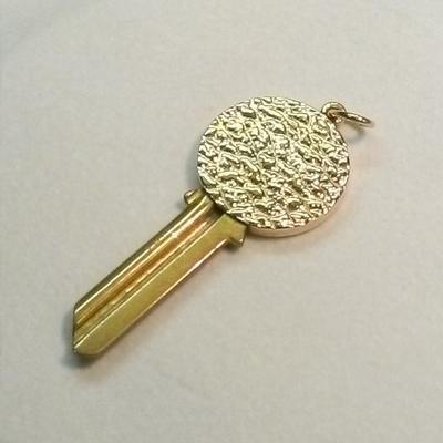 14KY Blank Top Key Engravable