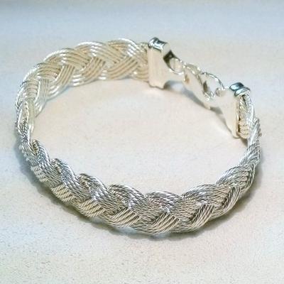 S/S 12mm Braid Bracelet