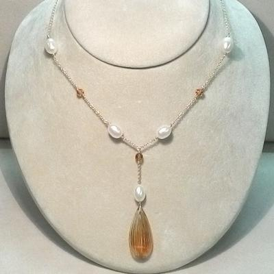 14KY Fresh Water Cultured Pearl Necklace