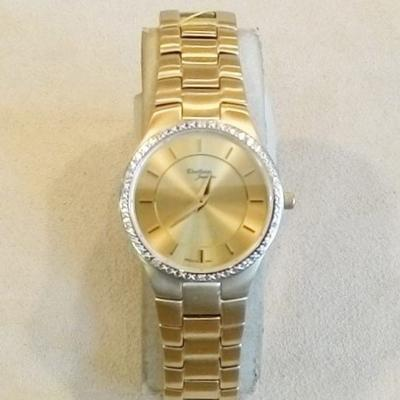 YTSB L. Bracelet Watch w/10 Diamonds