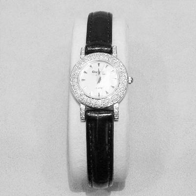 14KW Ladies Diamond Multi Strap Watch