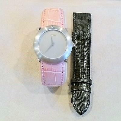 Platinumn Diamond G. Strap Watch