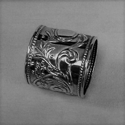 Sterling Silver Francis Napkin Ring