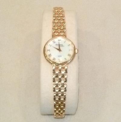 14KY L. MOP Bracelet Watch