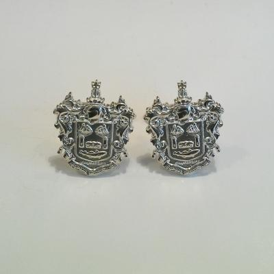 S/S Chatham Crest Cuff Links.