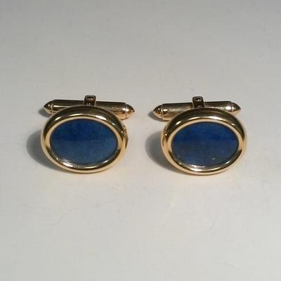 14KY Oval Blue Lapis CL