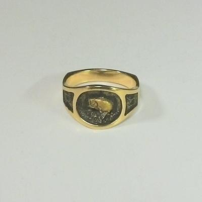 14KY G.Bass Ring
