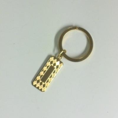 YGF Key Ring w/Rect. Taf