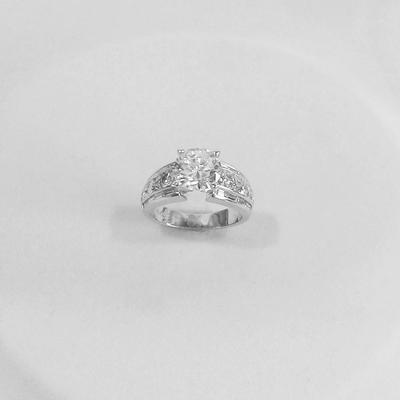 Platinum Diamond Engagment Ring