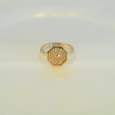 14KY- S/S Tiny Sailors Valentine Ring