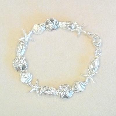 S/S Sm. Multi-Shell Bracelet