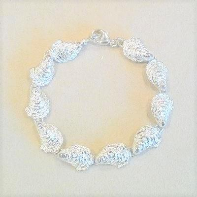 "S/S 7"" S. Oyster Link Bracelet"
