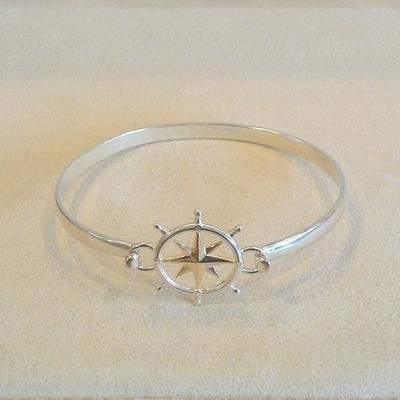 S/S Open Banlge Bracelet- Top sold separately
