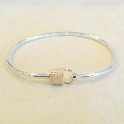 """S/S-14KY 6"""" Basket Bracelet"""