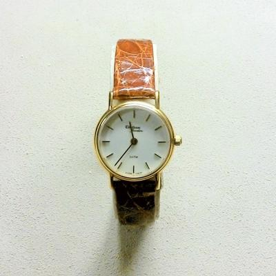 14KY Ladies Ultra-Thin Strap watch