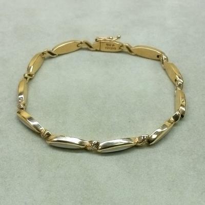 14K Pink Mother-of-Pearl Bracelet