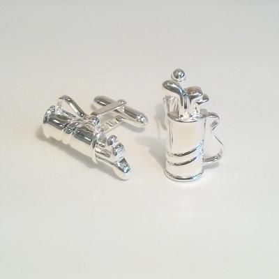 S/S Golf Bag Cuff Links