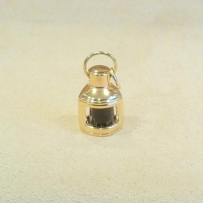 14KY Port Lantern Charm