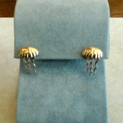 Jellyfish Pierced Earrings