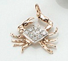 Crab Slide with Diamonds