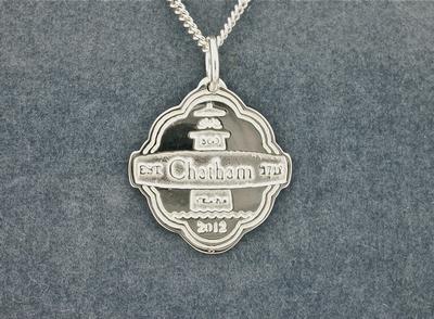 Chatham 300th Silver Charm