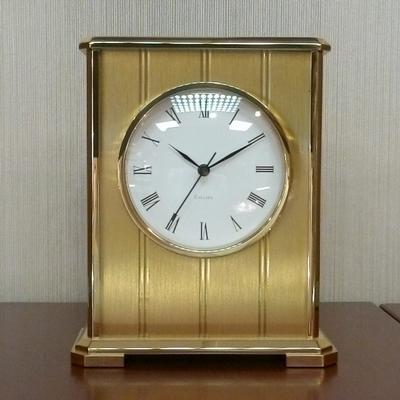 "Brass ""Embassy"" Clock."