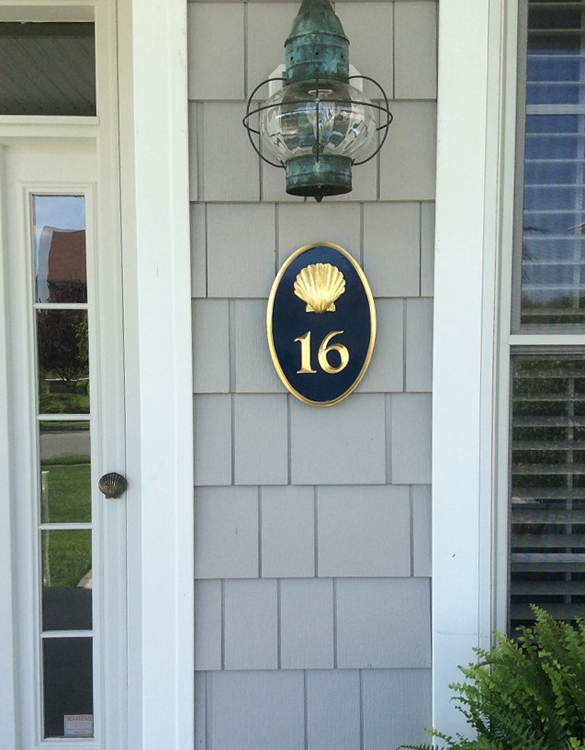 f495aa5204f9 House Number Signs - Custom Business Signs - The Chatham Sign Shop ...