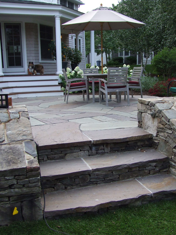 Patios and Steps