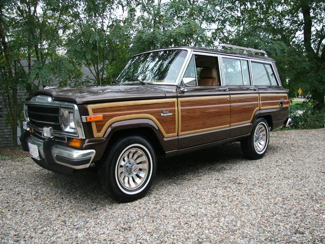 86 Jeep Grand Wagoneer Woody
