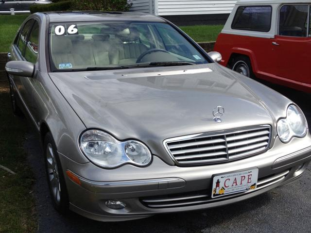 2006 mercedes benz c class c280 luxury cape cod used for Mercedes benz c class 2006 price