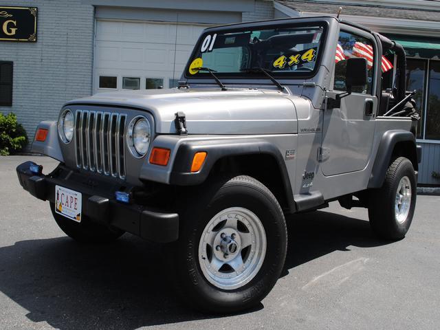 01 Jeep Wrangler SE