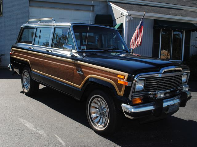 85 Jeep Grand Wagoneer - Cape Cod Used Cars & New England Used Car
