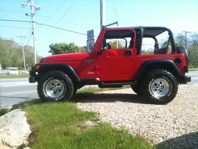 98 Jeep Wrangler Sport