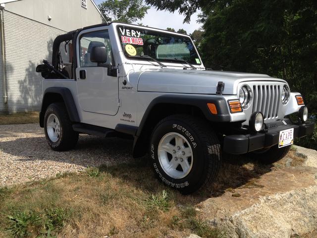 05 Jeep Wrangler Sport