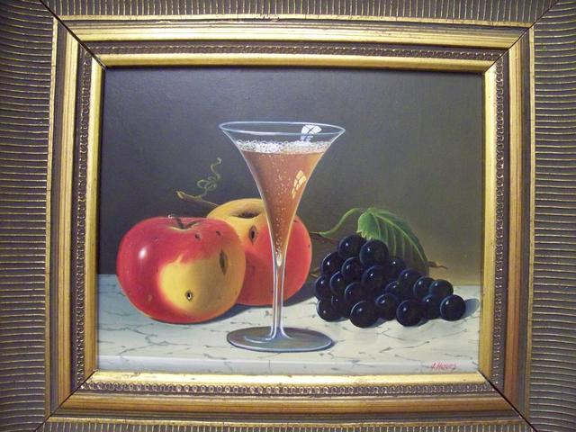 OB Still Life Signed J Howes item pa5416