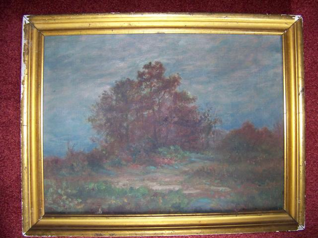 OC Modernist Lanscape Signed Henry C Lee item pa5405