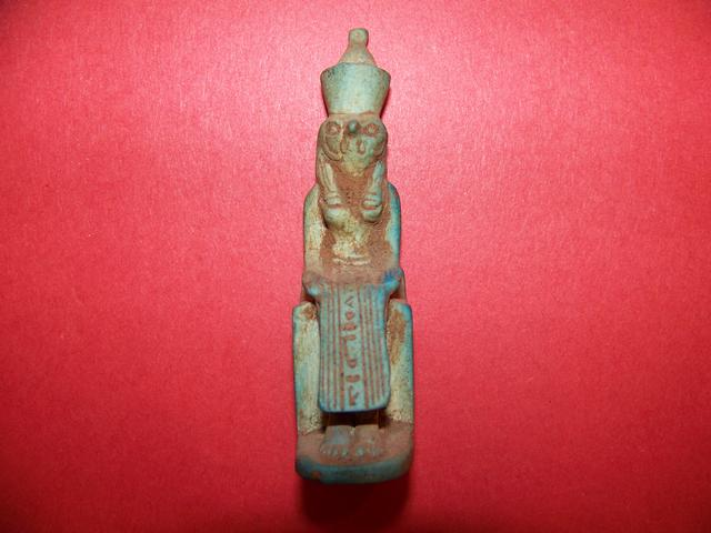 Egyptian Green Faience Ushabti item at5407