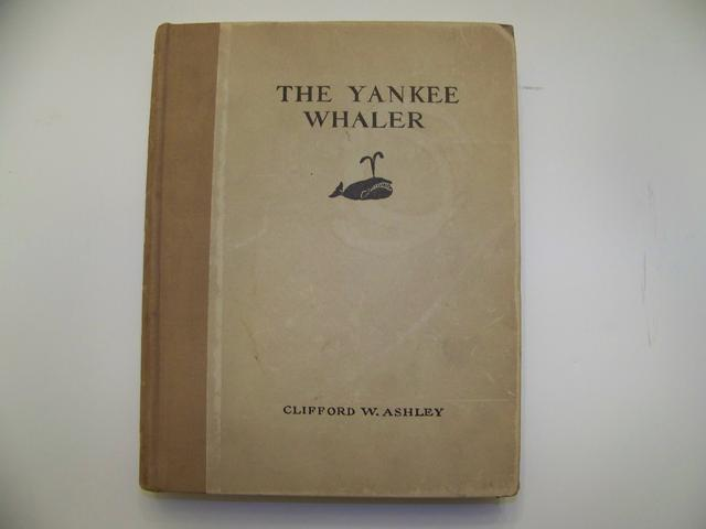 The Yankee Whaler & Signed Ink Drawing by Clifford w. Ashley 1st addtion item wh5428