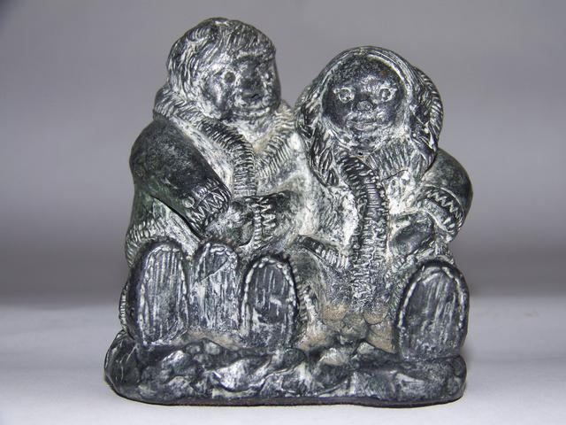 Inuit Soapstone Carved Figures item ai5419