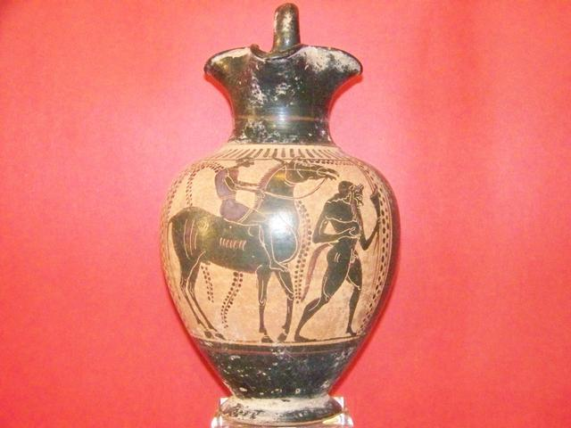 Etrusscan Period Attic Black-figured Oinoche item at5400