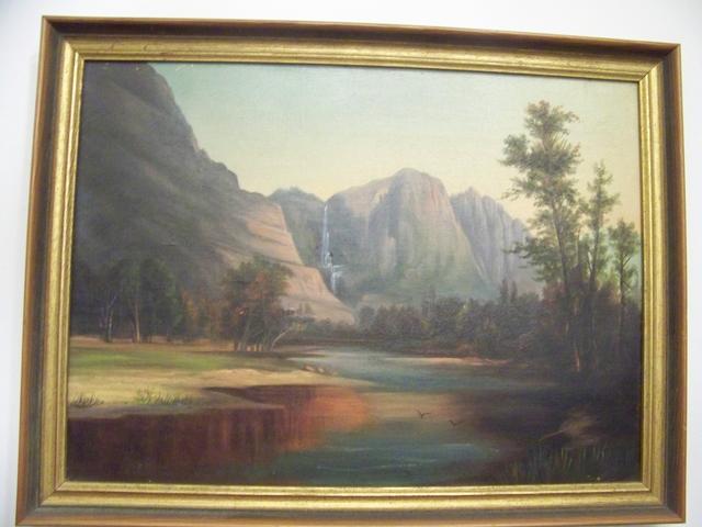 O/C Water Fall Scene item pa5421