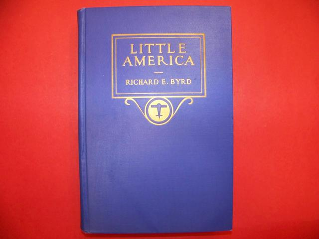 Signed  Byrd 1st Edition Book Little America item na5428