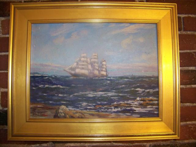 O/B Marine Ship Motif by Arthur E Ward item ma1601