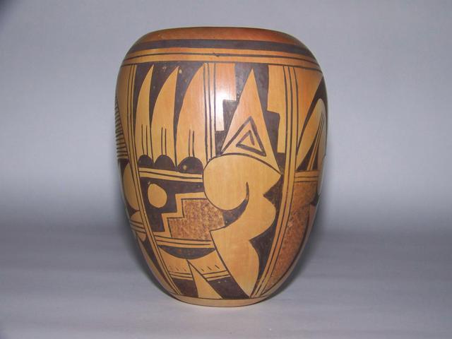 Hopi Pottery Signed juno item ai5408