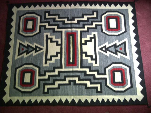 Large Contemporary Navajo Rug item nr5405